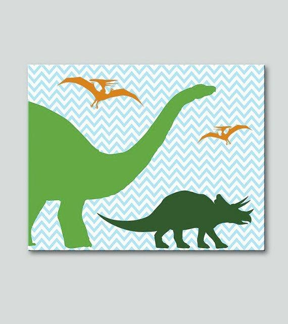 59 Best Canvas Images On Pinterest | Dinosaurs, Canvas Ideas And Regarding Dinosaur Canvas Wall Art (Image 6 of 20)