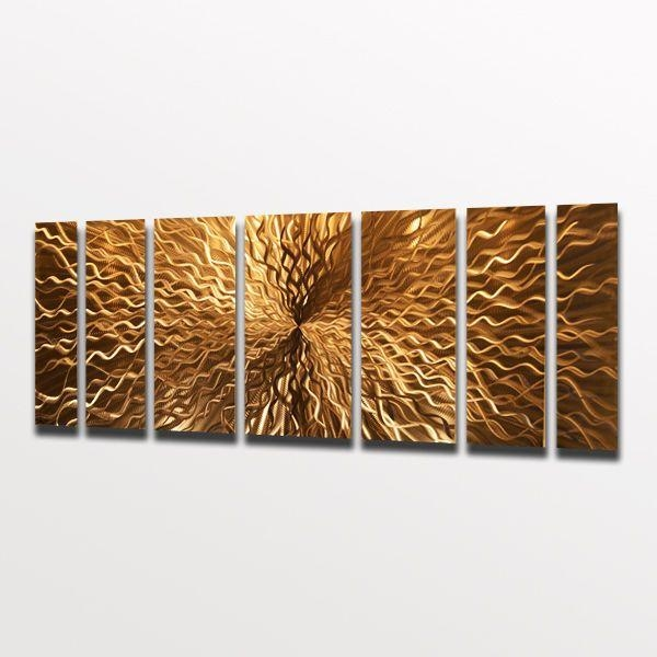 59 Best Fantastic Wall Art Images On Pinterest | Metal Walls Pertaining To Metallic Wall Art (Image 2 of 20)