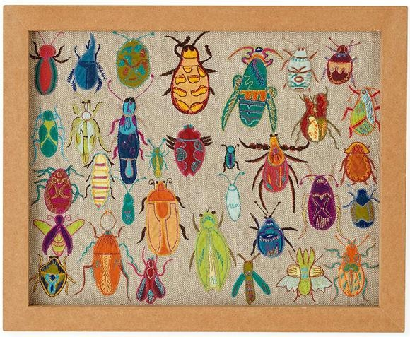 6 Playful Art Walls For Kids' Rooms | Handmade Charlotte Intended For Insect Wall Art (View 15 of 20)