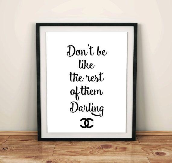 617 Best Digital Wall Decor Images On Pinterest | Ladies Footwear Throughout Chanel Wall Decor (Photo 18 of 20)