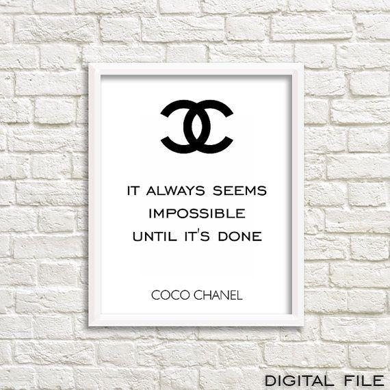 617 Best Digital Wall Decor Images On Pinterest | Ladies Footwear With Chanel Wall Decor (View 14 of 20)
