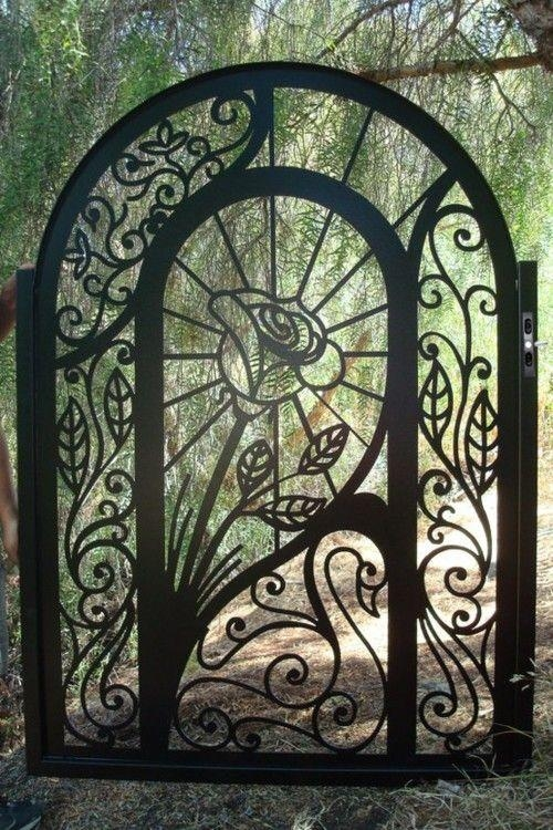 67 Best Ferforje Images On Pinterest | Wrought Iron, Irons And Inside Iron Gate Wall Art (Photo 19 of 20)