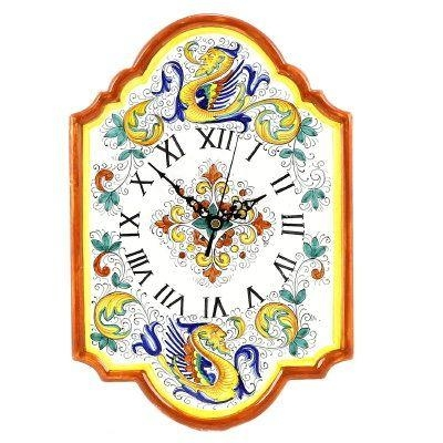 67 Best Wall Decor Images On Pinterest | Wall Decor, Italian In Italian Ceramic Wall Clock Decors (View 3 of 22)