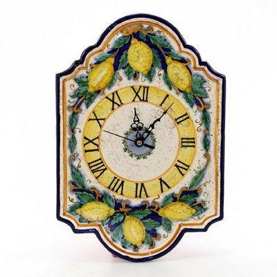 67 Best Wall Decor Images On Pinterest | Wall Decor, Italian Intended For Italian Ceramic Wall Clock Decors (View 14 of 22)
