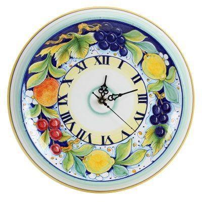 67 Best Wall Decor Images On Pinterest | Wall Decor, Italian Regarding Italian Ceramic Wall Clock Decors (Image 6 of 22)
