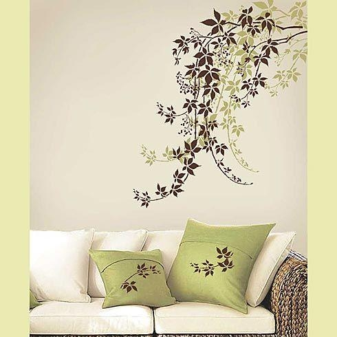 67 Best Wall Stencils Images On Pinterest | Wall Stenciling With Space Stencils For Walls (Image 5 of 20)