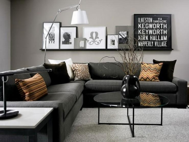 69 Fabulous Gray Living Room Designs To Inspire You – Decoholic In Living Room With Grey Sofas (View 9 of 20)