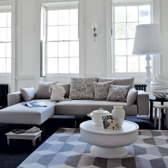 69 Fabulous Gray Living Room Designs To Inspire You – Decoholic Pertaining To Living Room With Grey Sofas (Photo 3 of 20)