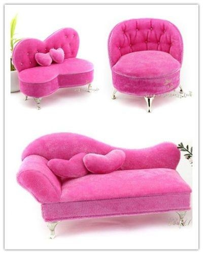 697 Best Barbie Dolls Images On Pinterest | Barbie Furniture Pertaining To Barbie Sofas (Image 5 of 20)