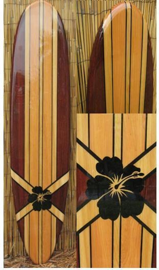 6Ft Decorative Surfboard Wall Art With | Tikisoulsurfboards Intended For Decorative Surfboard Wall Art (Photo 16 of 20)