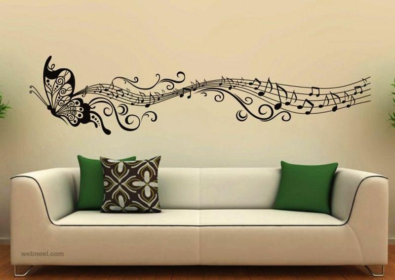 7 Must Try Music Themed Home Decor Ideas For Music Lovers Throughout Music Themed Wall Art (Photo 10 of 20)