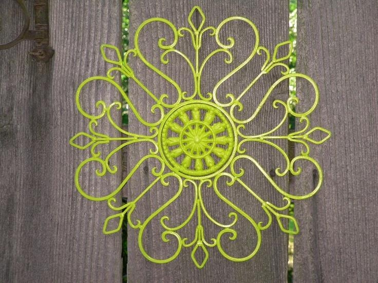 70 Best Wall Decoration Images On Pinterest | Wall Decorations Intended For Lime Green Metal Wall Art (Photo 19 of 20)