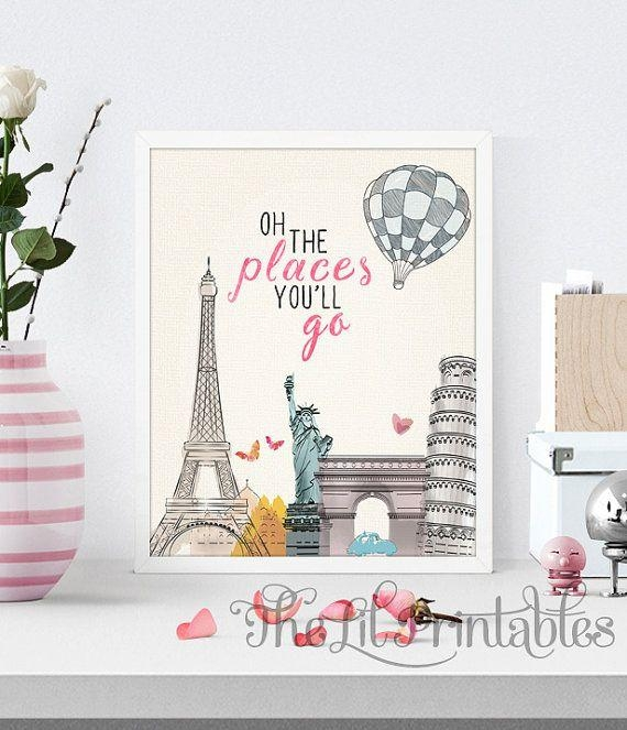 730 Best Kids Room Images On Pinterest | Bedroom Ideas, Home And Room With Regard To Paris Theme Nursery Wall Art (View 7 of 20)