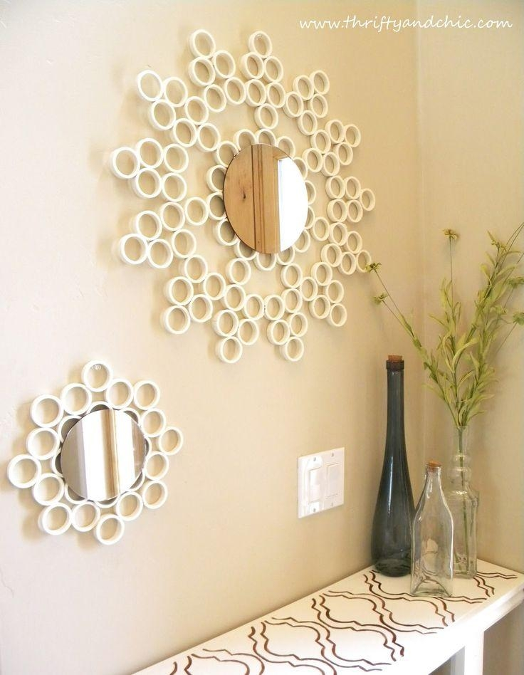 74 Best Mirror Images On Pinterest | Diy Mirror, Mirror Mirror And With Regard To Diy Mirror Wall Art (Image 4 of 20)