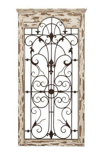 77 Best Jardinería Images On Pinterest | Wrought Iron, Metal Art Throughout Iron Gate Wall Art (Photo 15 of 20)