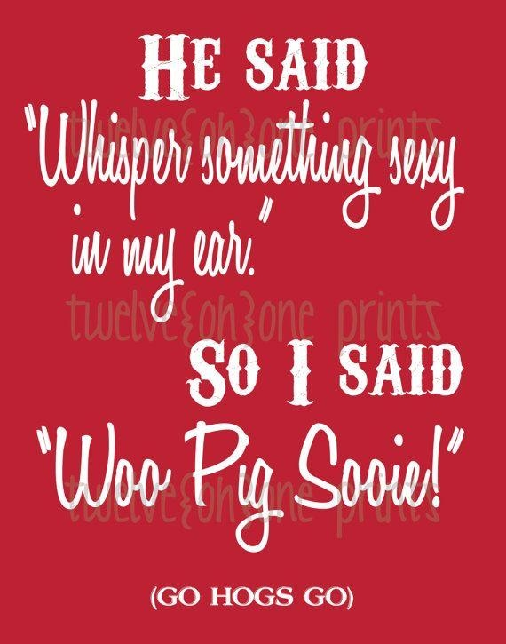 771 Best Razorback Images On Pinterest | Arkansas Razorbacks, Pigs Pertaining To Razorback Wall Art (View 17 of 20)