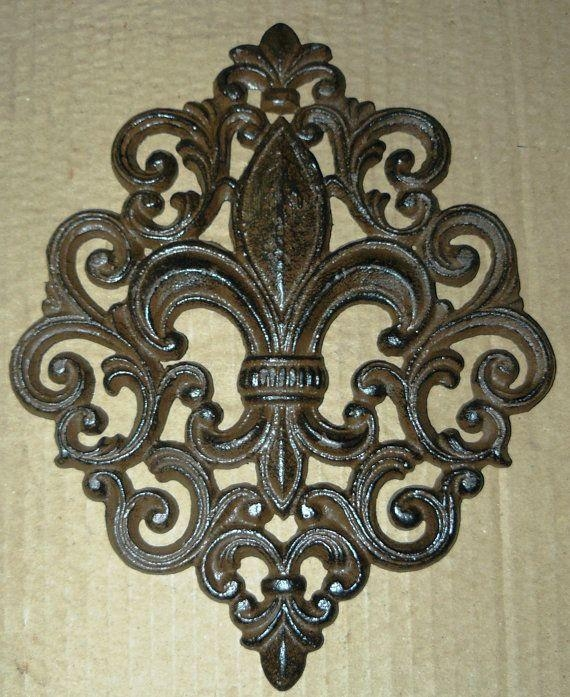 778 Best Fleur De Lis Images On Pinterest | Fleur De Lis Within Metal Fleur De Lis Wall Art (View 12 of 20)