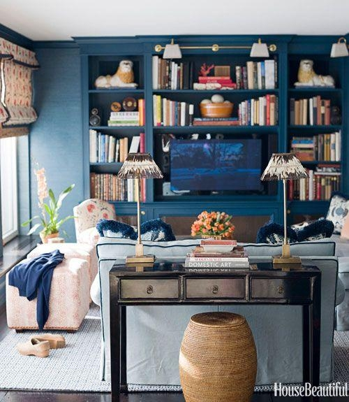 779 Best Family Room/ Media Room/ Library 1 Images On Pinterest For Media Room Wall Art (Image 10 of 20)