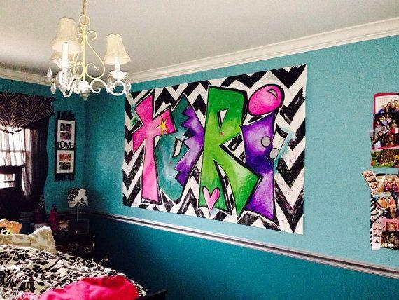 79 Best And Ur Name Is Images On Pinterest | Graffiti Lettering Pertaining To Personalized Graffiti Wall Art (Image 1 of 20)
