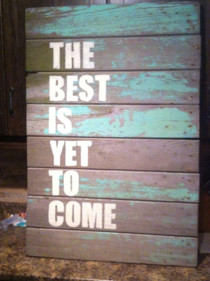 8 Best Rustic Wood Walls Images On Pinterest | Rustic Wood Walls Within Wooden Word Wall Art (Image 1 of 20)