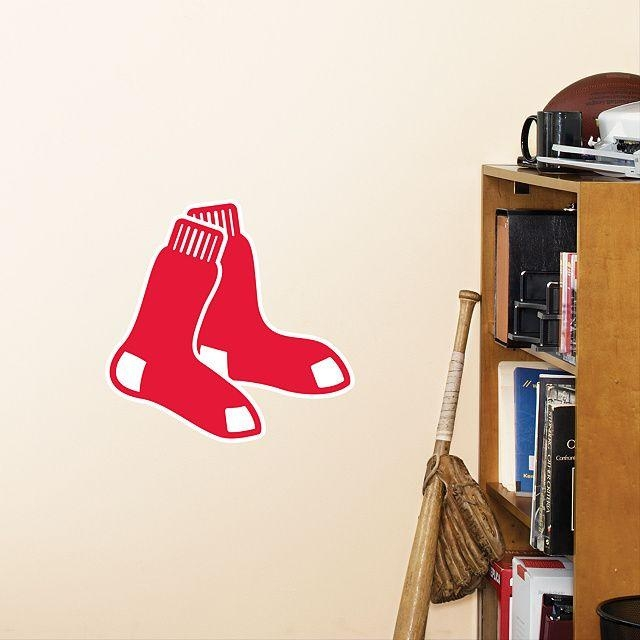80 Best Fenway Images On Pinterest | Boston Red Sox, Socks And Intended For Red Sox Wall Decals (Photo 12 of 20)