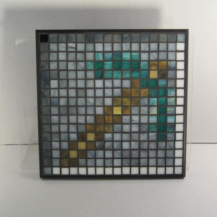 81 Best Minecraft Mosaic Project Images On Pinterest | Fuse Beads Throughout Pixel Mosaic Wall Art (Image 3 of 20)