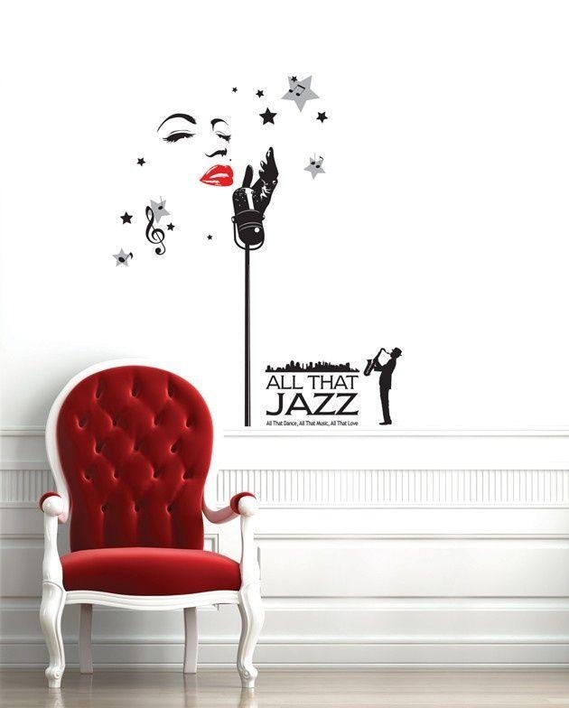 82 Best Music Wall Decals Images On Pinterest | Music Wall, Wall For Music Themed Wall Art (Photo 17 of 20)