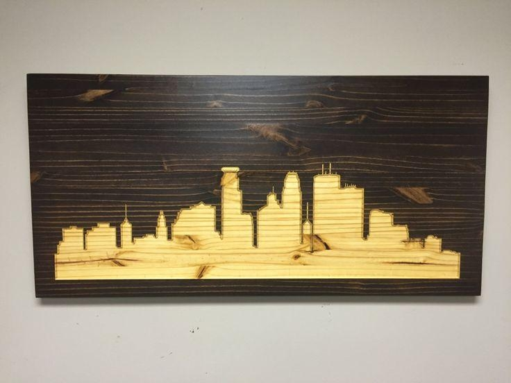 82 Best Wood Wall Art Images On Pinterest | Wood Walls, Wood Wall Inside Minneapolis Wall Art (Image 4 of 20)