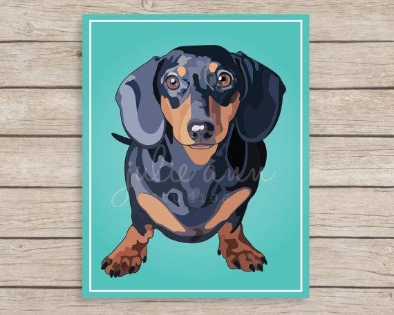848 Best Dachsie Stuff Images On Pinterest | Dachshunds, Bronze Pertaining To Dachshund Wall Art (Photo 20 of 20)