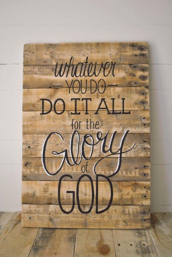 856 Best Arts & Crafts ~ Engraving Ideas Images On Pinterest In Wooden Word Wall Art (Photo 9 of 20)