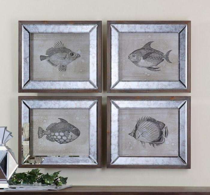 86 Best Uttermost Art Images On Pinterest | Accent Furniture With Mirrored Frame Wall Art (Image 2 of 20)