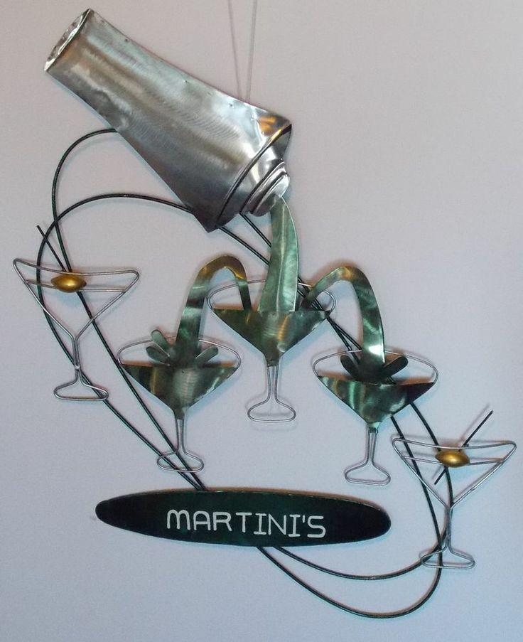 87 Best Bar Images On Pinterest | Pub Tables, Dining Tables And Inside Martini Metal Wall Art (View 9 of 20)
