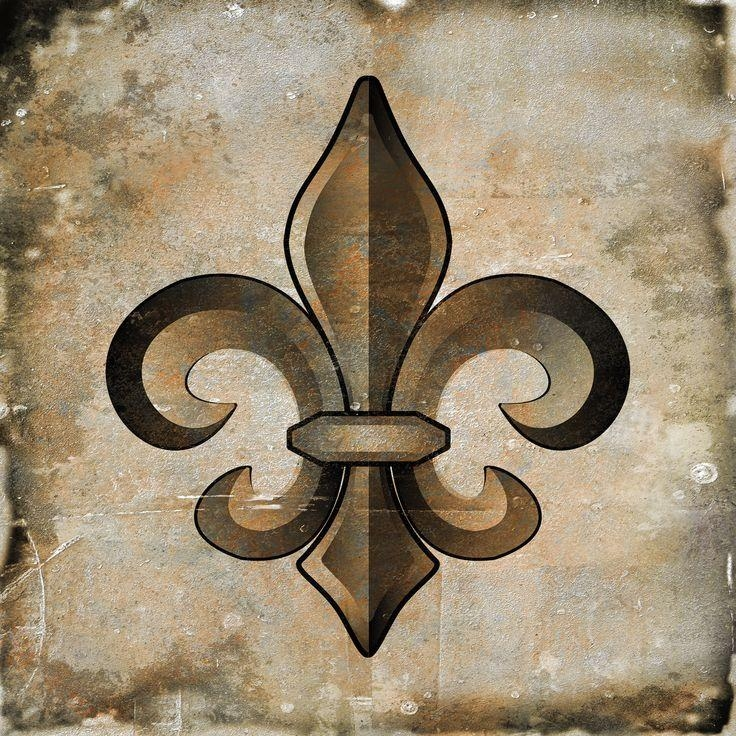 87 Best Fleur De Lis Images On Pinterest | Fleur De Lis, Louisiana With Regard To Fleur De Lis Metal Wall Art (Photo 11 of 20)