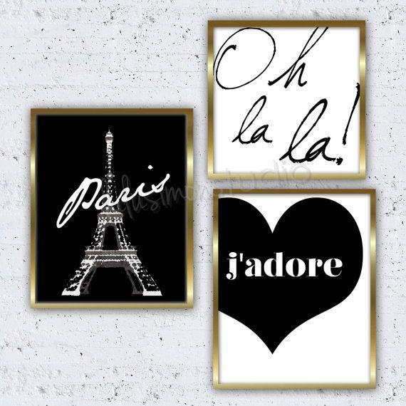 9 Best Paris Themed Decorating Ideas And Projects Images On With Regard To Paris Theme Nursery Wall Art (View 9 of 20)