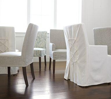 9 Best Pottery Barn/williams Sonoma Images On Pinterest | Pottery Regarding Pottery Barn Chair Slipcovers (Photo 16 of 20)