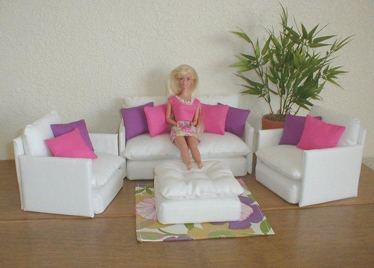 909 Best Barbie Doll Houses And Furniture Images On Pinterest For Barbie Sofas (Image 6 of 20)