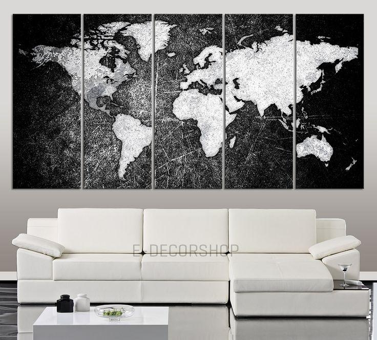 919 Best Large Wall Art Canvas Printing Images On Pinterest Regarding Large Black And White Wall Art (Image 5 of 20)