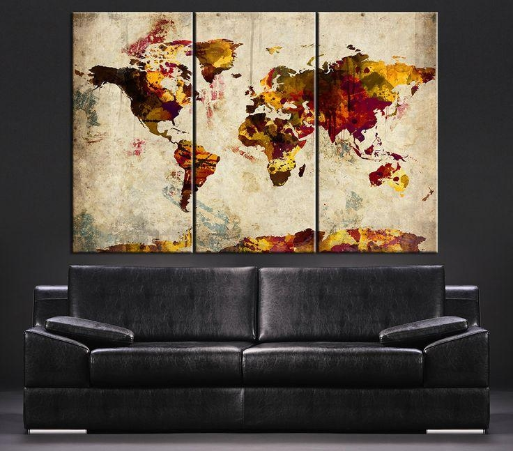 919 Best Large Wall Art Canvas Printing Images On Pinterest With Regard To Large Retro Wall Art (View 8 of 20)