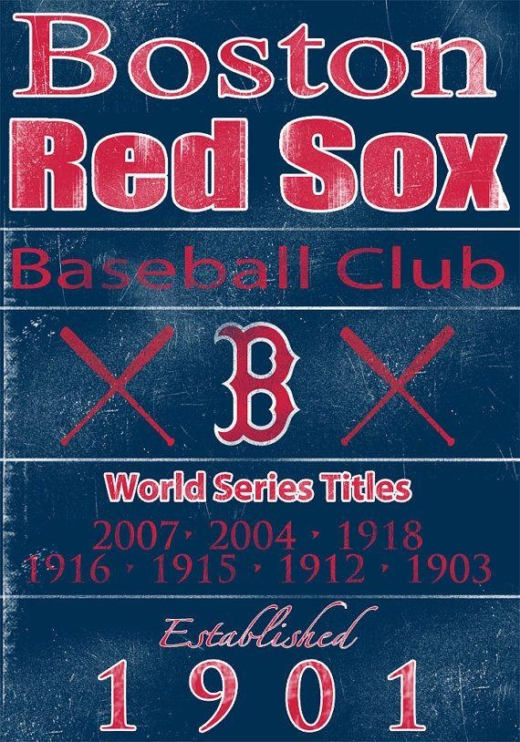 93 Best Red Sox Images On Pinterest | Boston Red Sox, Boston Throughout Red Sox Wall Art (Image 4 of 20)
