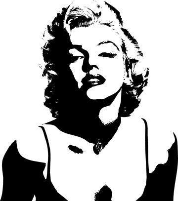 94 Best Marilyn Monroe Wall Decals Images On Pinterest | Wall With Regard To Marilyn Monroe Wall Art (Image 5 of 20)