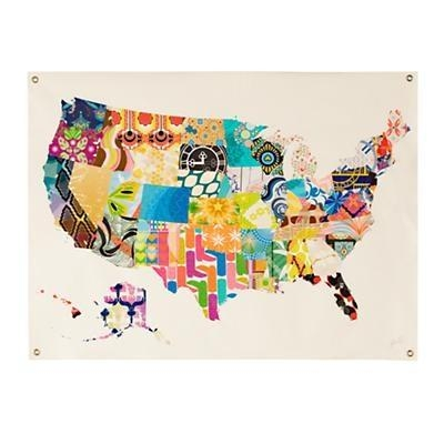 94 Best Wall Art | California Usa Images On Pinterest | California Within Us Map Wall Art (Photo 13 of 20)