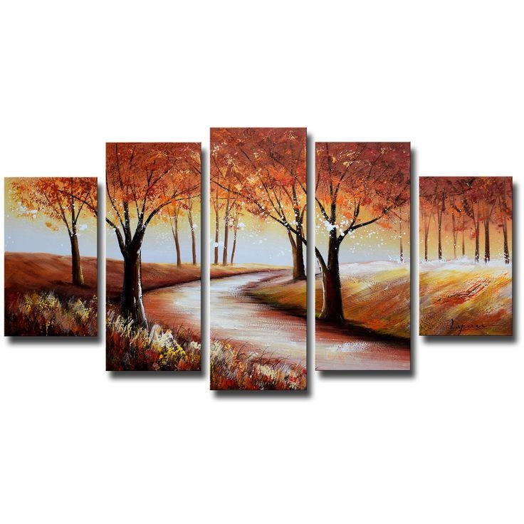 940 Best Canvas Painting 3 Piece Art Images On Pinterest For Canvas Landscape Wall Art (Image 4 of 20)