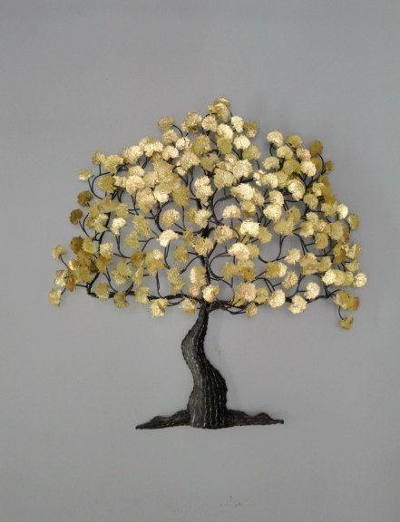 96 Best Indoor Trees – Art, Sculptures, Silks Images On Pinterest Regarding Tree Sculpture Wall Art (Image 3 of 20)