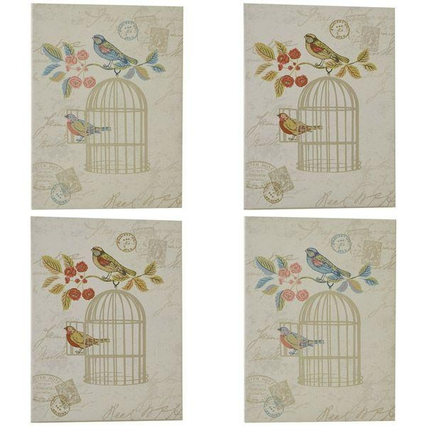 96 Best New Lounge Images On Pinterest | Lounges, Bird Cages And Throughout Shabby Chic Canvas Wall Art (Image 2 of 20)