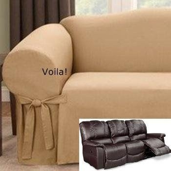 97 Best Slipcover 4 Recliner Couch Images On Pinterest | Recliners Pertaining To Slipcover For Reclining Sofas (View 2 of 20)