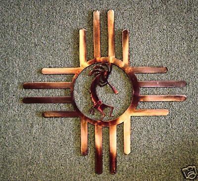 98 Best Zia Sun & Kokopelli Art Images On Pinterest | Native With Regard To Kokopelli Metal Wall Art (Image 8 of 20)