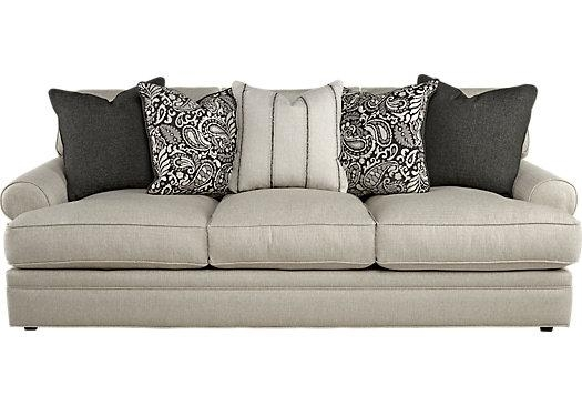 $999.99 – Lincoln Square Beige Sofa – Classic – Contemporary, Textured Pertaining To Beige Sofas (Photo 18 of 20)