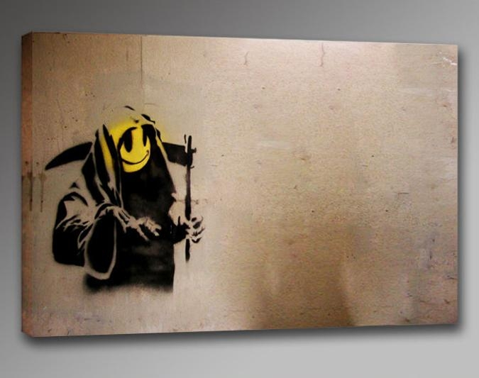 Abbey Clozest | Rakuten Global Market: Wall Art Art Panel Art Intended For Banksy Wall Art Canvas (View 12 of 20)