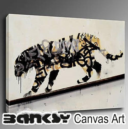 Abbey Clozest | Rakuten Global Market: Wall Art Art Panel Art With Banksy Canvas Wall Art (Image 1 of 20)