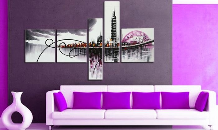 Abstract Wall Art | Groupon Goods Pertaining To Groupon Wall Art (Image 6 of 20)